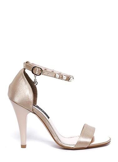 Kuum İnce Topuklu Ayakkabı Bej